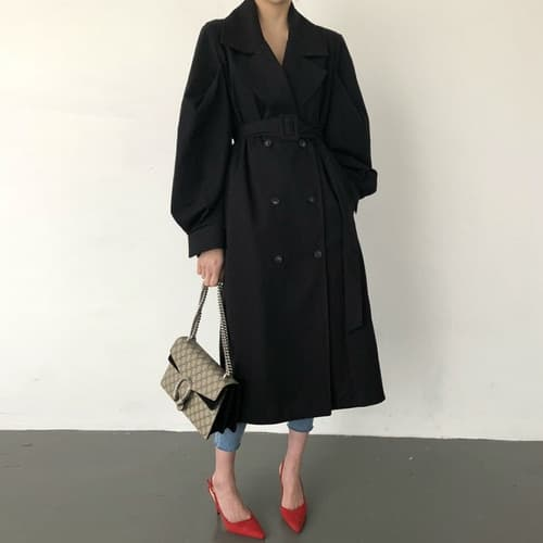 trench-coat chic pour femme