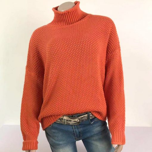 Pull-over vintage à manches longues